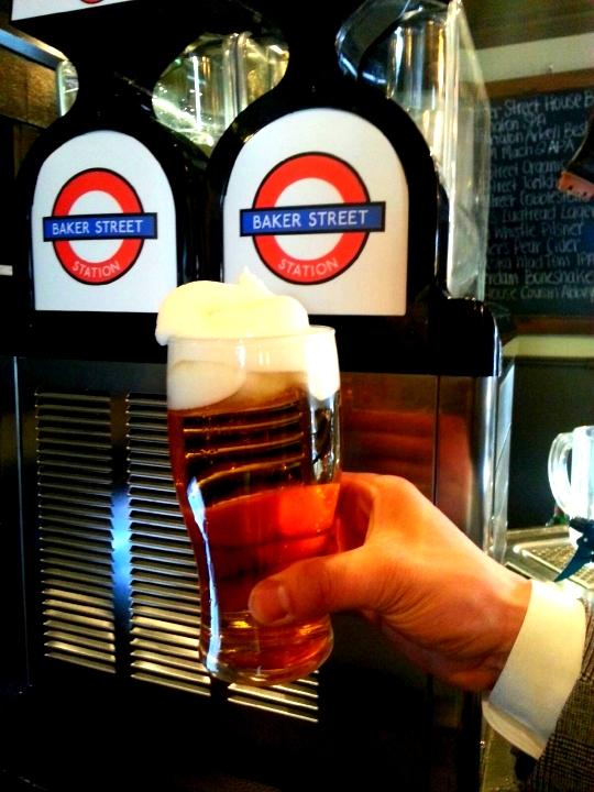 Baker Street Station Blizzard Frozen Polar Beer