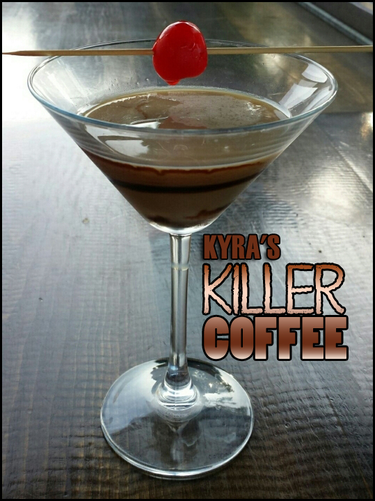 July Kyra's Killer Coffee b