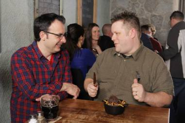 YGEH Baker Street Station John Catucci and Paul French