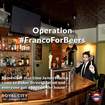 Operation Franco For Beers Remember that time