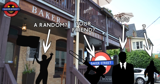 Baker Street Station Guelph Costume Contest 2015