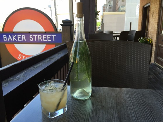 Baker Street Staff Cocktail June 2016 - Heather's Fhubar