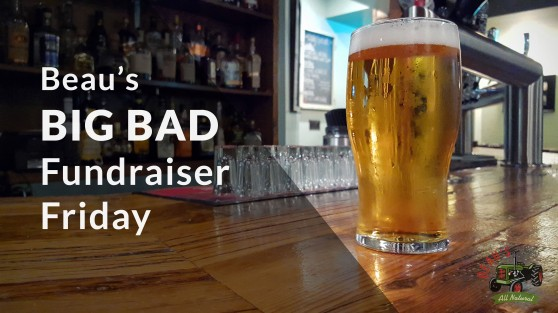 Beau's Big Bad Fundraiser Friday at Baker Street Station in Guelph